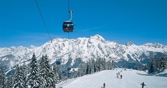 Een impressie van wintersport in Leogang.