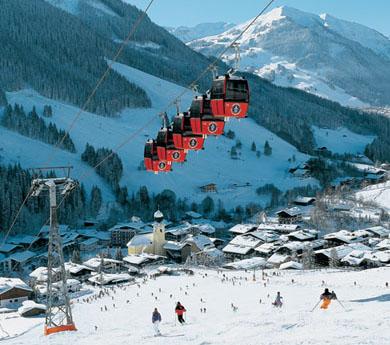 Impressie van Wintersport in Saalbach
